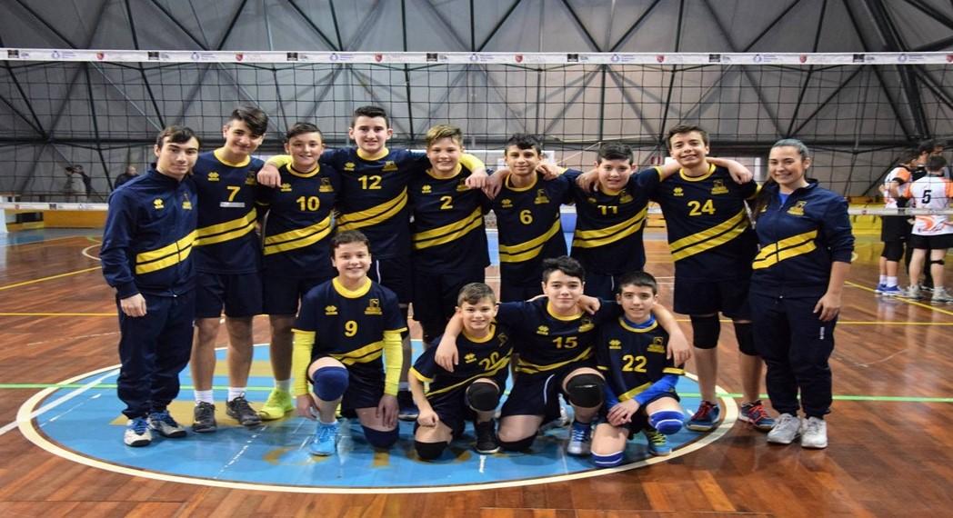 La Pallavolo Tor Sapienza corre verso le finali nazionali Under 14M